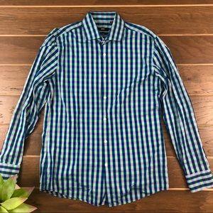 48d48f23 Hugo Boss Shirts - [Hugo Boss] Jaron Slim Fit Checkered Button Up 16